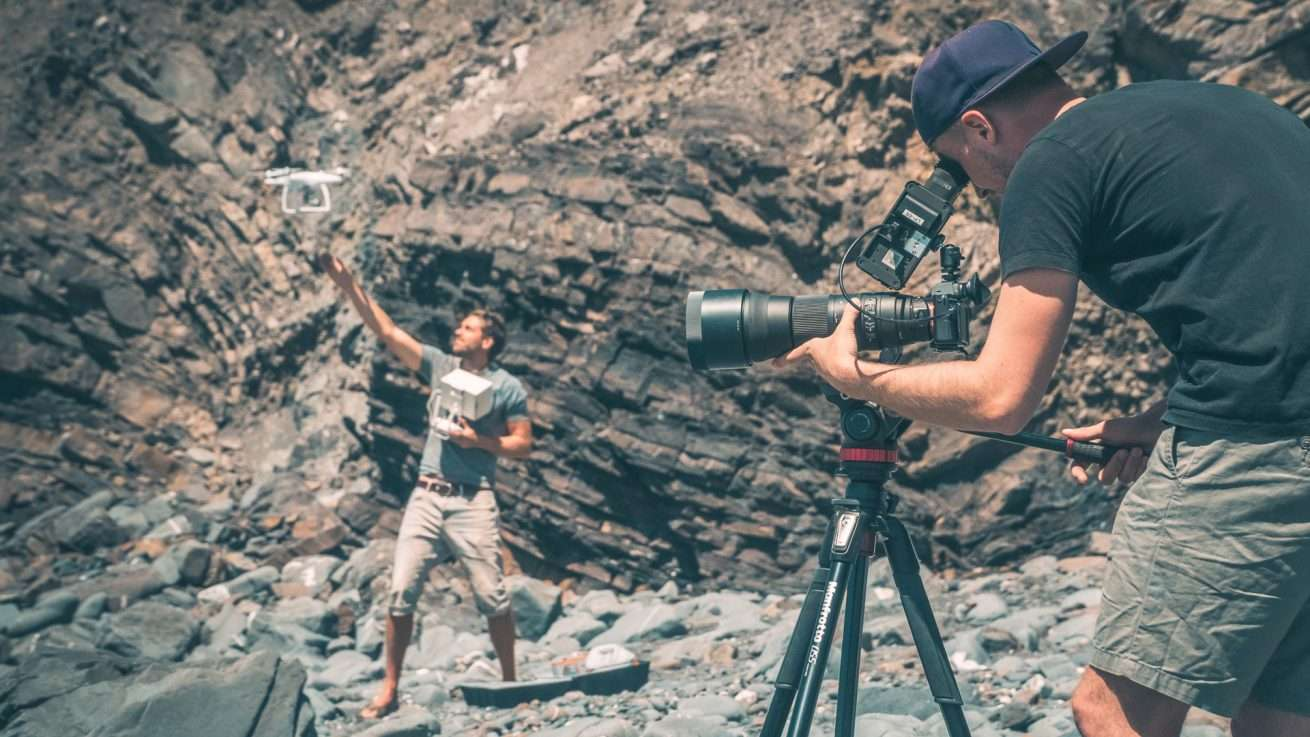 Funsport Videoproduktion Teleobjektiv