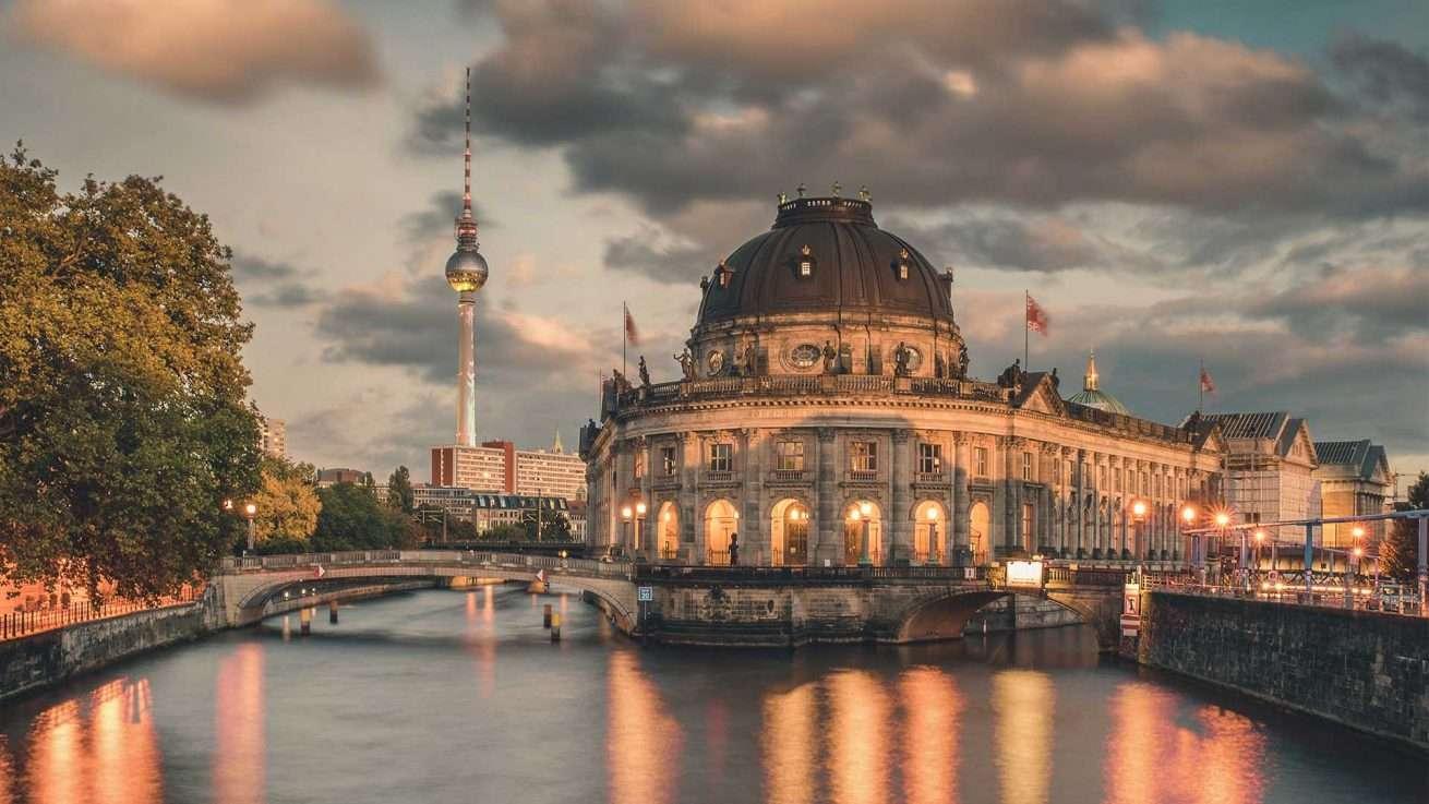 Bodemuseum Berliner Fernsehturm Festival of Lights