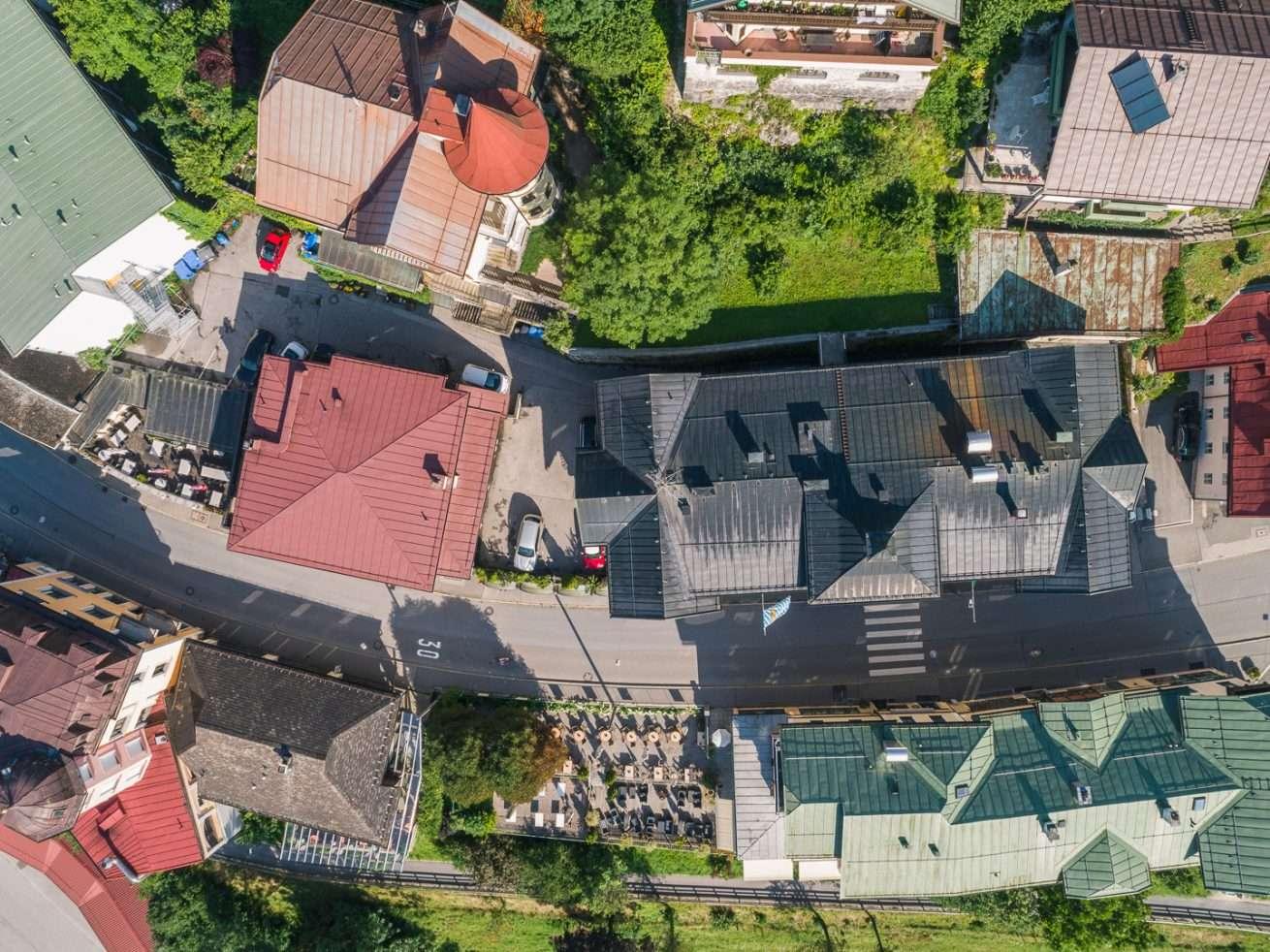 Luftaufnahme Immobilie