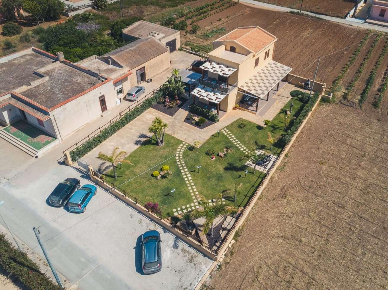 Luftaufnahme Ferienhaus