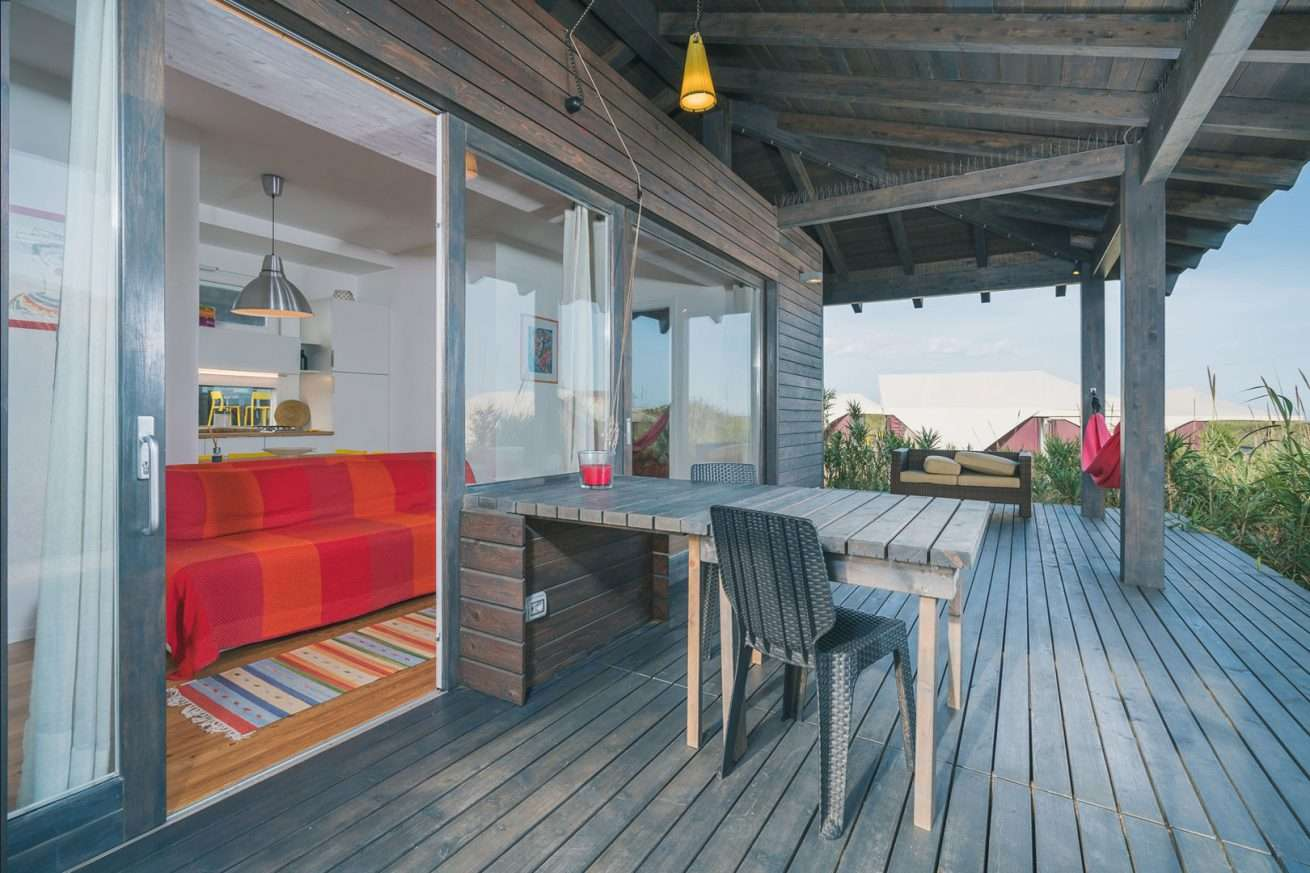 Foto Ferienimmobilie Terrasse