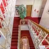 Foto Hotel Immobilie Treppenhaus